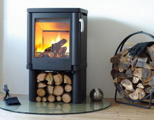 Multi-Fuel-Stove-Installation